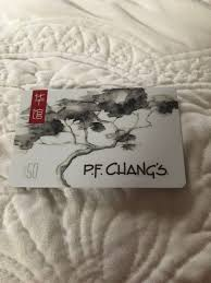 50 pf changs gift card 1 of 1only 1 available see more