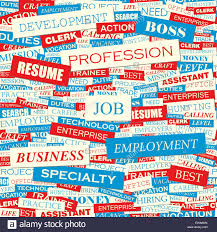 Job Seamless Pattern Concept Related Words In Tag Cloud