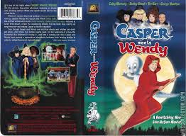 casper and wendy movie. casper meets wendy vhs cover and movie