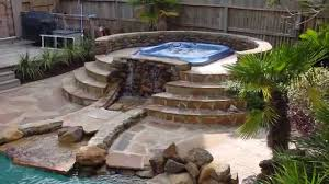 patio ideas with fire pit. Home Design : Outdoor Patio Ideas With Hot Tub Backyard Fire Pit R