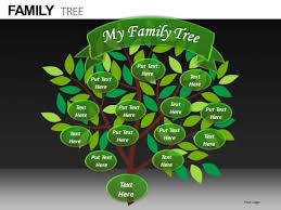 powerpoint family tree template my family tree template