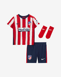 Atlético de Madrid 2020/21 Home Baby and Toddler Football Kit. Nike SI