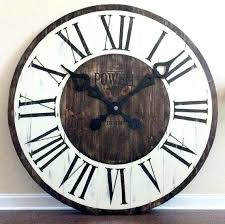 large office wall clocks. Extra Large Wall Clocks Giant Clock Office Art Entryway Decor Statement Luxury O