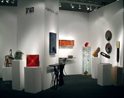 sofa west booth 2 glass exhibition