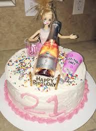 21st Birthday Cake Decorating Ideas New Drunk Barbie Cake 21st