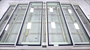 glazing vision bi parting sliding stacking over fixed rooflight ion