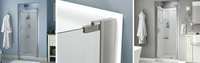 bathtub door installation shower cost no top track style pivoting enigma x bathtub door installation estimated cost