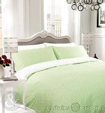 green white polka dot reversible duvet cover bedding uk with regard to stylish property green duvet covers designs