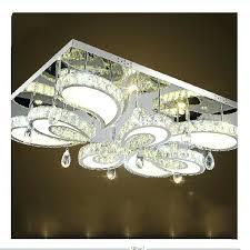 rectangular ceiling light modern led flush mount crystal lights fixture intended for new house fixtures ideas rectangular ceiling light