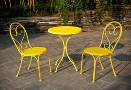yellow patio furniture. 3piece yellow outdoor bistro set patio furniture 9