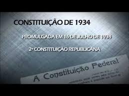 Resultado de imagem para dIA DA 3ª CONSTITUIÇÃO DO B RASIL - 1934
