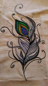 Embroidery Feather Designs Full Peacock Feather Embroidery Sewing Machine Embroidery