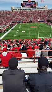 Nebraska Football Field Seating Chart Memorial Stadium Lincoln Interactive Seating Chart