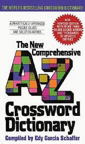 new prehensive a z crossword dictionary edy garcia