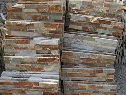 external slate wall tiles. golden beige quartzite ledger stone wall panels fireplace surround decorative external slate tiles