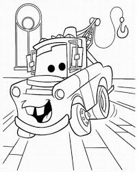 Small Picture Coloring Pages Mater Coloring Page Redcabworcester
