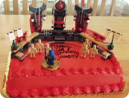 Lego Birthday Cakes - The Wicker House