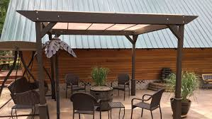 exciting outdoor structures shelters canopies site furnishings including shade benches tables and