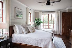 white and grey master bedroom one room challenge master bedroom reveal featured by popular