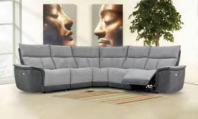 stefano fabric corner power recliner