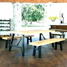 kitchen bench table picnic style kitchen table tables bench small size of picnic style kitchen table