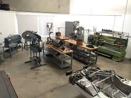 sheet metal shop classic competition vintage race car restoration management track