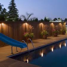 swimming pool lighting options. led solar power outdoor garden powered light gutter fence wall roof yard lamp swimming pool lighting options g