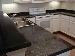 diy concrete countertops over laminate black