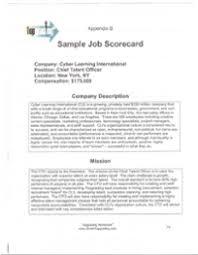 Topgrading Chart Versatile Accountability Tool Topgrading Job Summary Scorecard