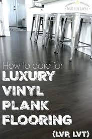 how to care for luxury vinyl plank flooring ad cleaning allure cleaner