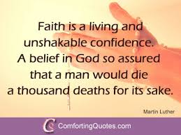 Faith Quotes Christian Best Of Quote By Martin Luther King On Faith Picture Quote
