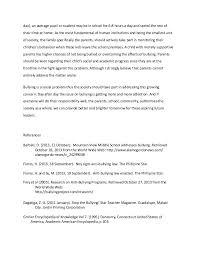 bullying essay example essays com  bullying essay example 16 3