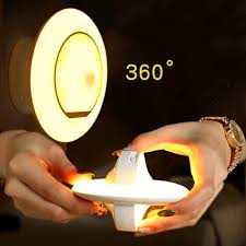 Rotating Led Security Light Us 9 4 45 Off New Party Supplies 360 Degree Rotating Led Night Motion Sensor Security Light Rechargeable Security Wall Lamp On Aliexpress