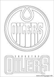 Small Picture edmonton oilers logo nhl hockey sport Coloring pages Printable