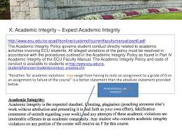 academic works ecu the course syllabus a guide for student success ppt download