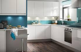 modern kitchen design ideas. IT Marletti White Gloss With Integrated Handle Modern Kitchen Design Ideas B