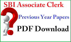 Sbi Clerk Previous Year Papers Download With Solution Pdf Download