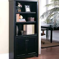 architecture tall black bookcase with doors attractive heavy wood lacquer red interior glass door in