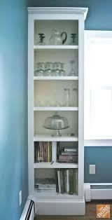 glass cabinet doors built in shelves before glass cabinet doors were added corner glass display cabinets uk