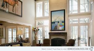 Decorating Ideas For Living Rooms With High Ceilings  Floor lamps