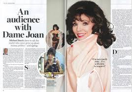joan collins press