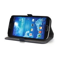 side flip phone. blue premium genuine leather side flip wallet case for samsung galaxy s4 phone c