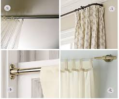 spring tension cafe curtain rods double cafe rod brown curtain rods wrap around curtain rod side mount dry rods