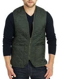 Barbour - Men's Quilted Waistcoat/Zip-In Liner &  Adamdwight.com
