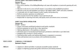 Machine Operator Resume Example Lathe Machine Operator Resume Sample ...