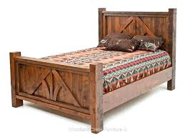 Reclaimed Wood Bed Frame Reclaimed Wood King Bed Reclaimed Wood Bed ...