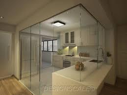 Kitchen Decor Black And White Kitchen Design Moreover Room Bto