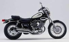 yamaha virago. yamaha xv535 virago motorcycle review - side view