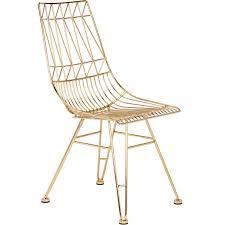 allure furniture. Allure Steel Mesh Chair In Gold Furniture W