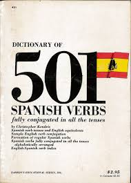 Spanish Form Chart Dictionary Of 501 Spanish Verbs Fully Conjugated In All The